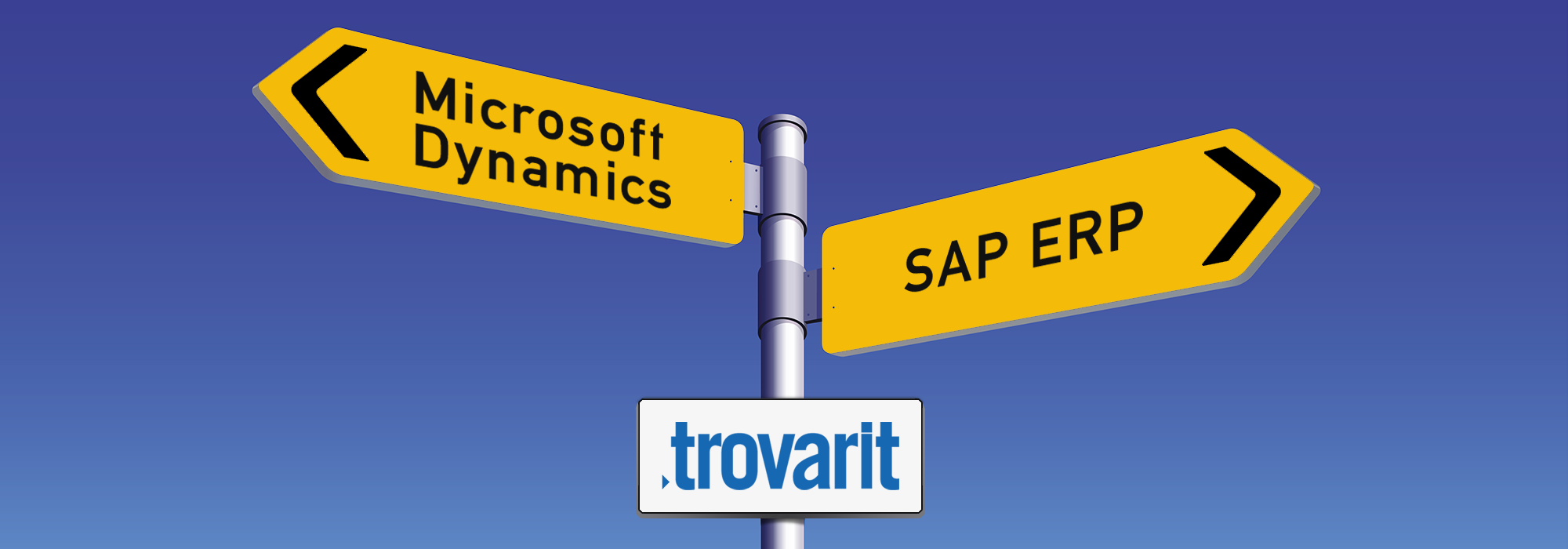 Microsoft Dynamics ERP und SAP ERP: Auswahlberater Trovarit blickt in die Zukunft im Webinar