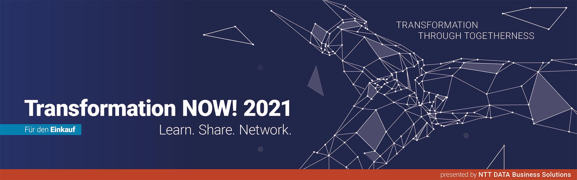 Transformation NOW! 2021 für den Einkauf
