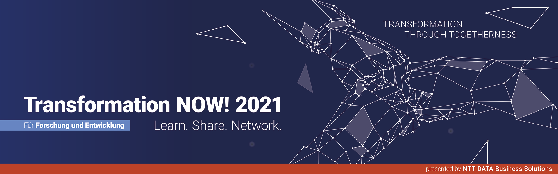 Transformation NOW! 2021 für Forschung und Entwicklung