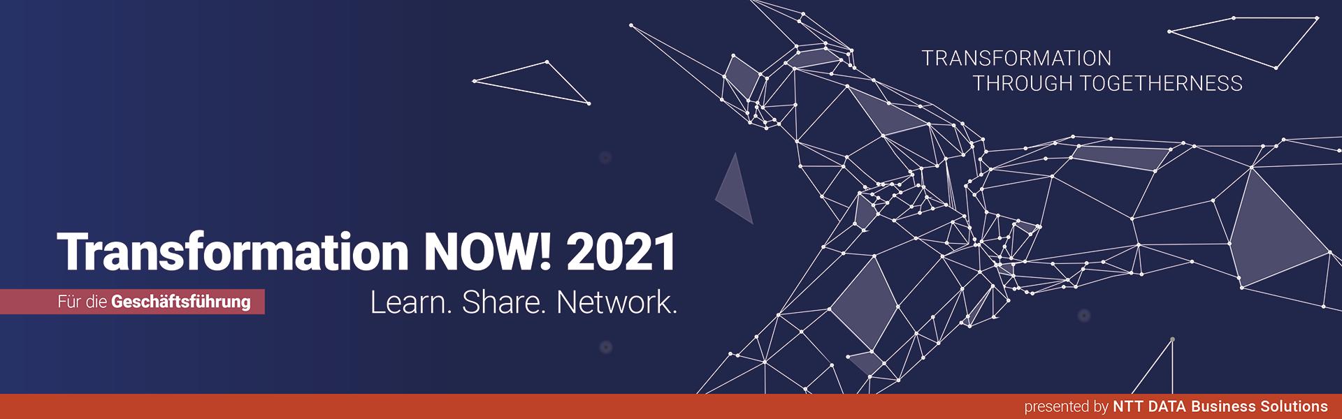 Transformation NOW! 2021 für die Geschäftsführung