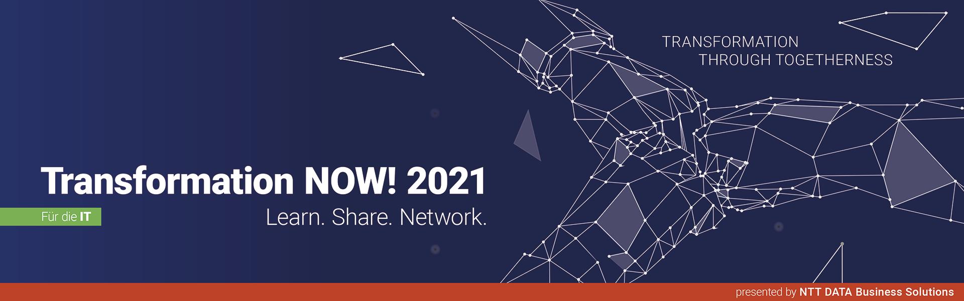 Transformation  NOW! 2021 für die IT