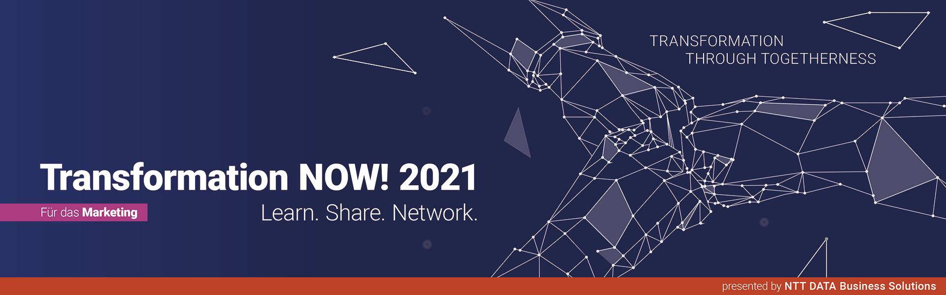 Transformation NOW! 2021 für das Marketing