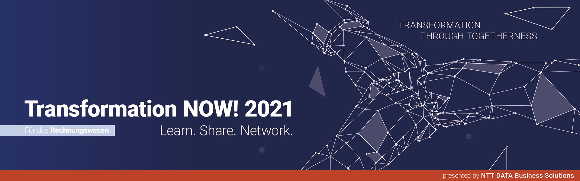 Transformation NOW! 2021 für das Rechnungswesen