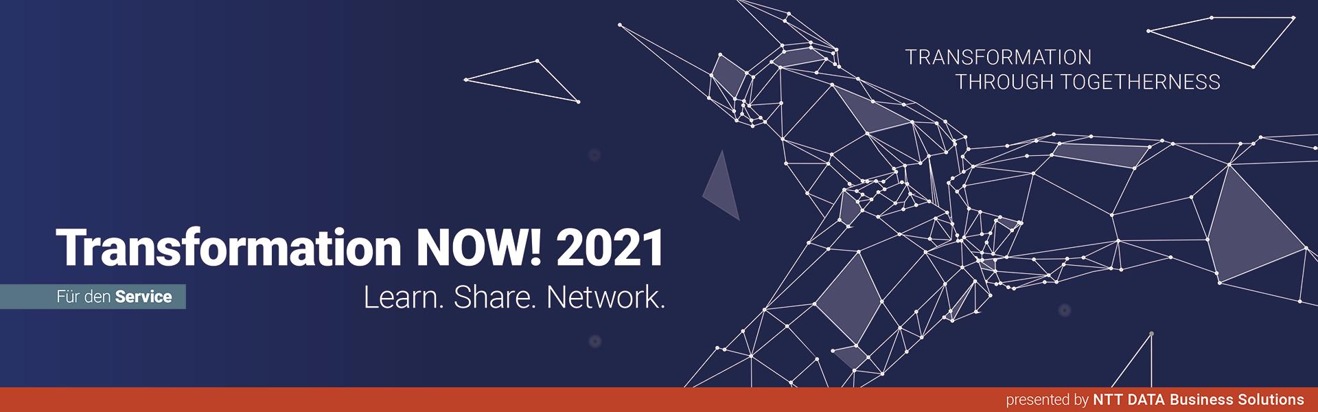 Transformation NOW! 2021 für den Service